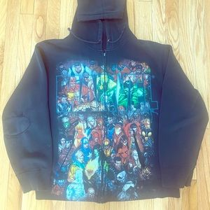 Vintage Marvel Zip Up Sweatshirt